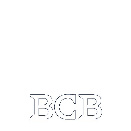 BCB White Logo
